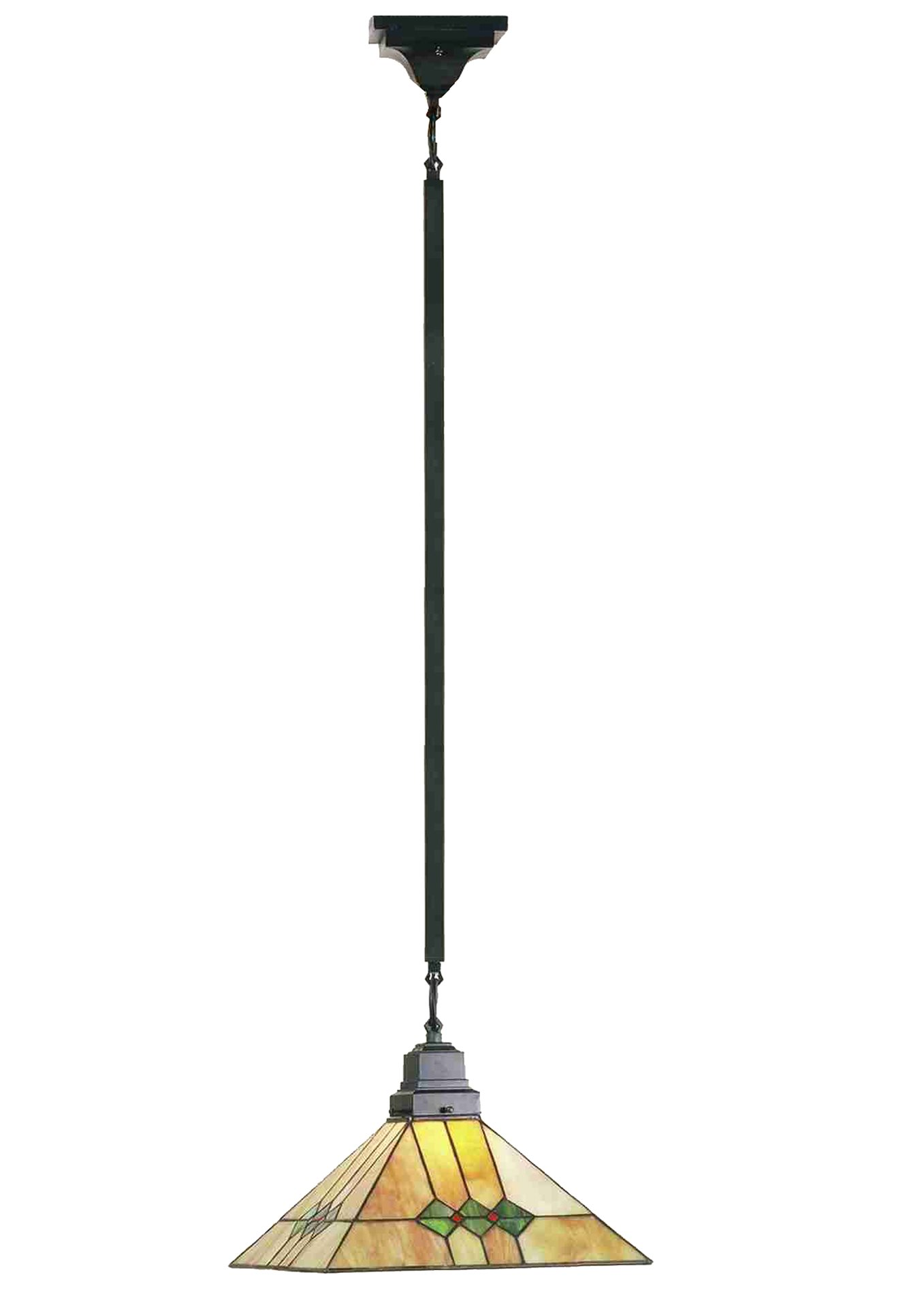 Mission Pendant Light In Glow Glass Mission Style Pendant Light Springdale Lighting Mission 1
