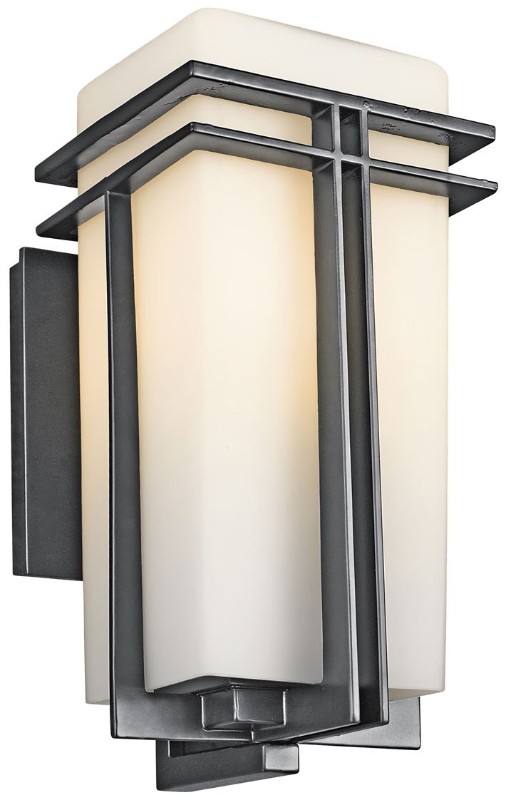 Kichler lighting 49201bk tremillo modern contemporary outdoor zoom amipublicfo Choice Image