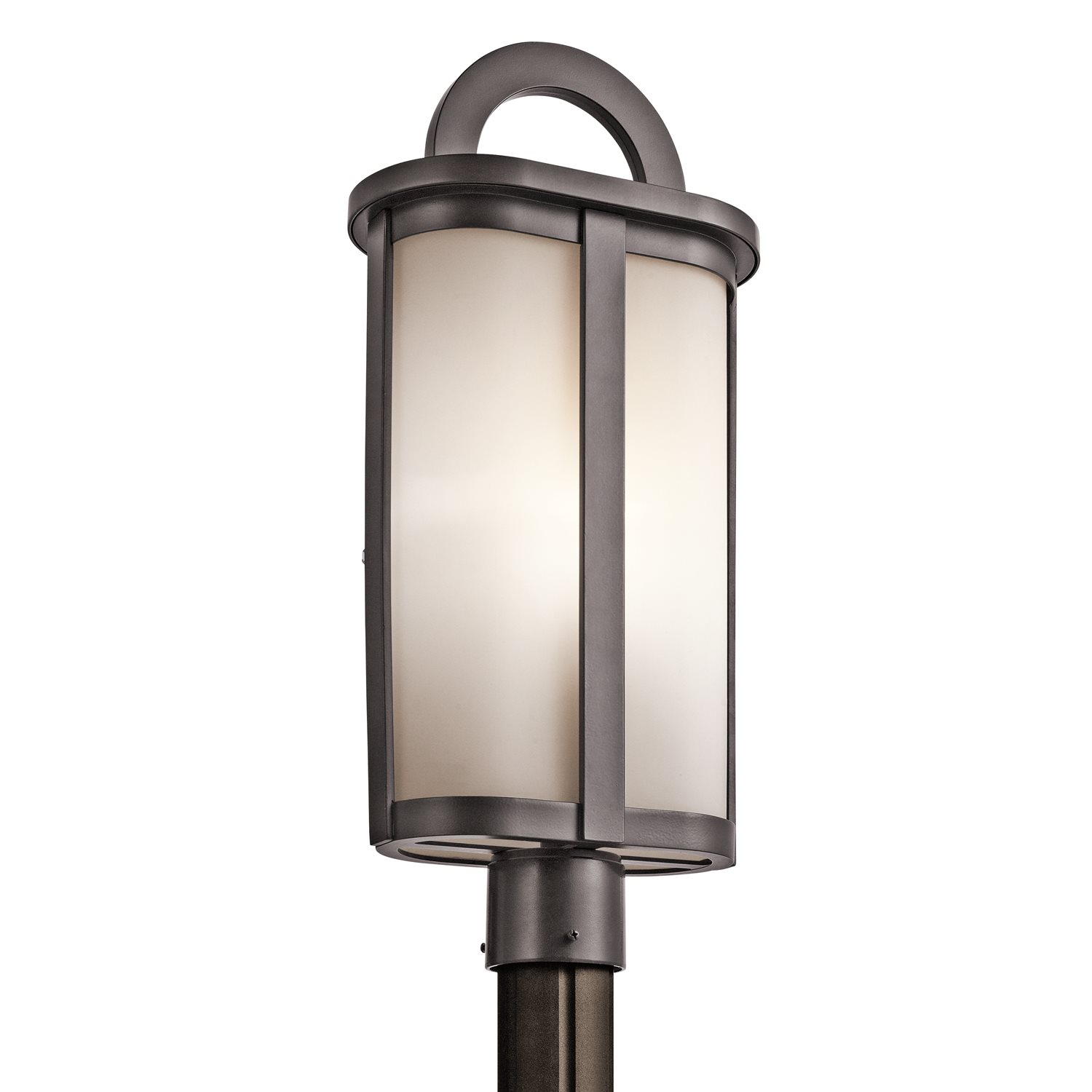 Kichler lighting 49471az rivera modern contemporary for Contemporary outdoor post light fixtures