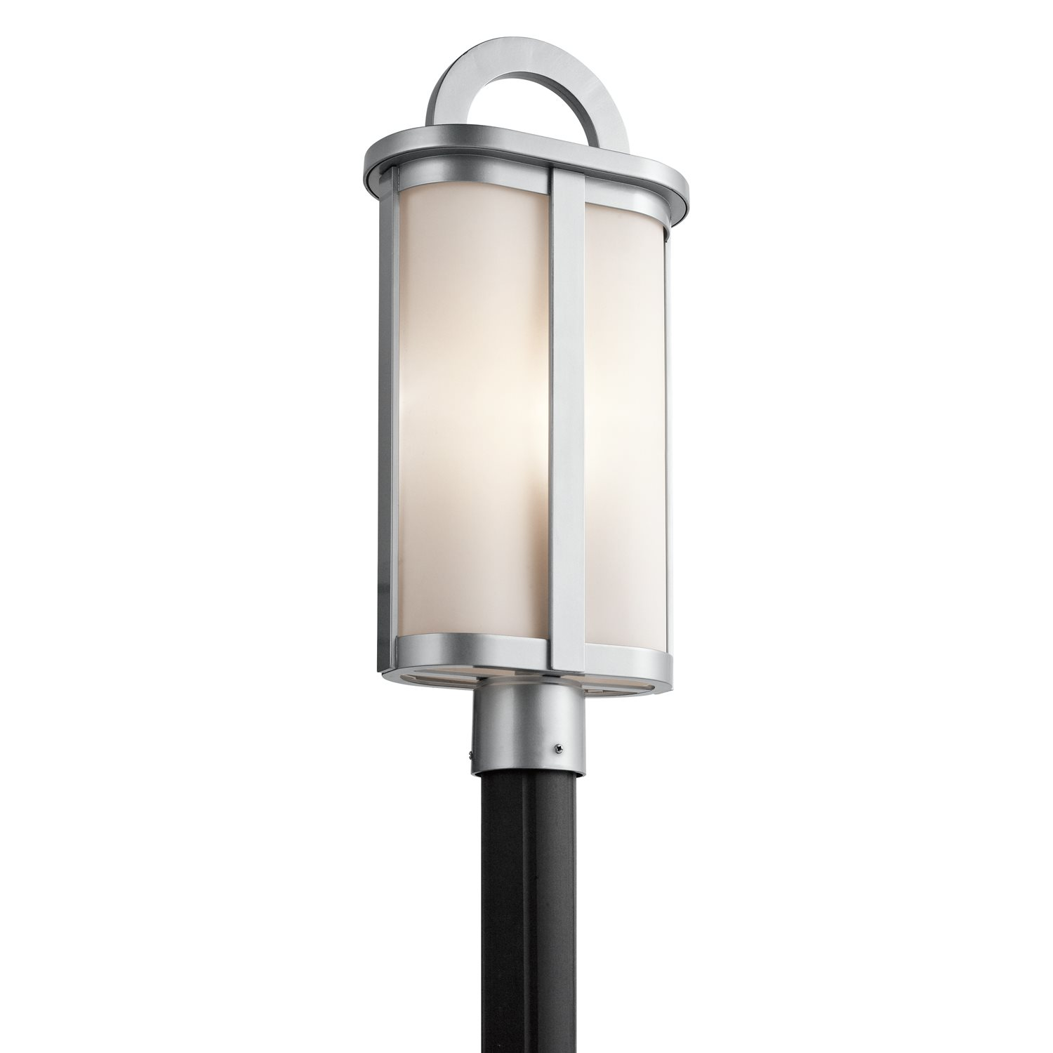 Kichler lighting 49471pl rivera modern contemporary for Contemporary outdoor post light fixtures