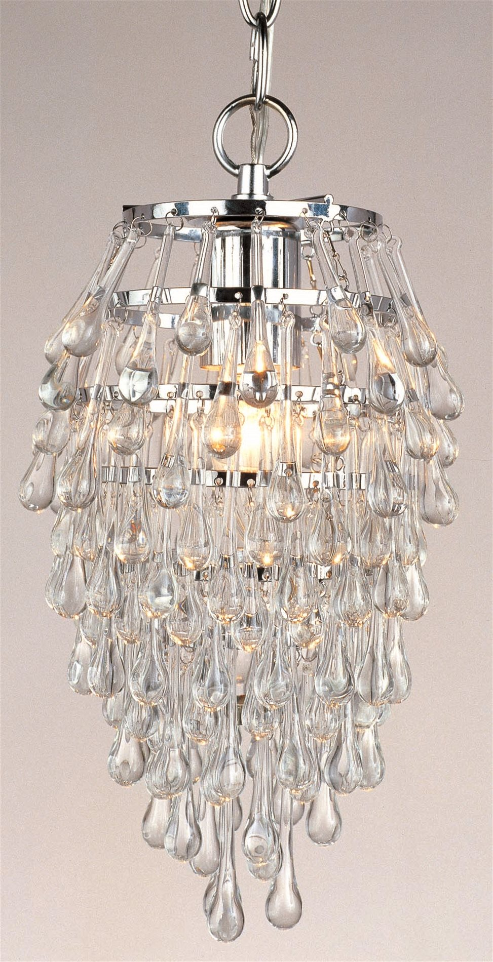 Af Lighting 4950 1h Crystal Clear Teardrop Contemporary