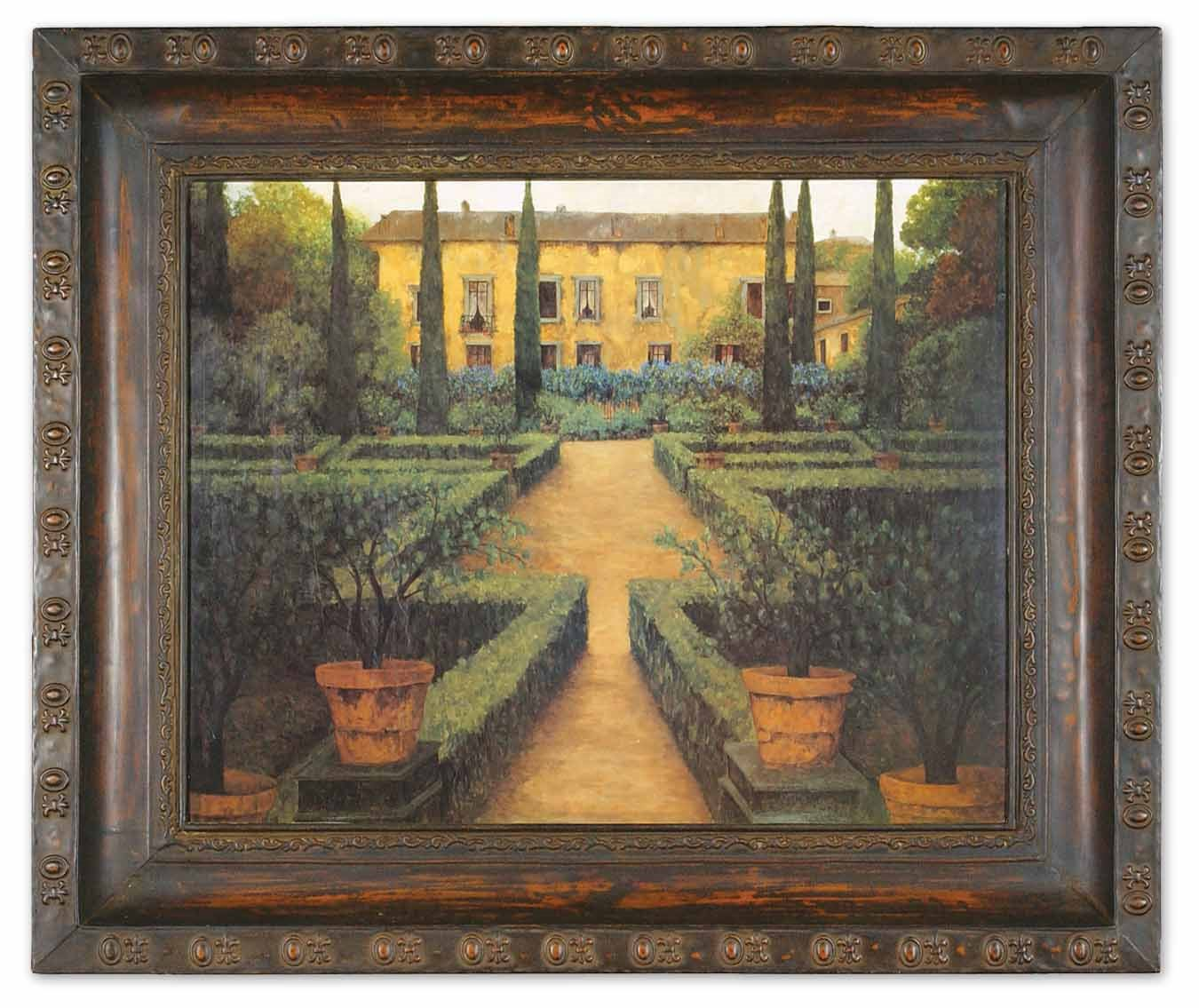 Uttermost 50422 Garden Manor Traditional Canvas Wall Art