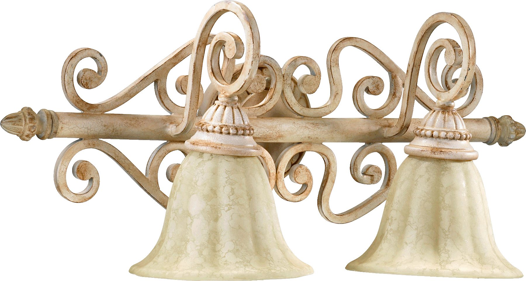 Quorum Wall Sconces : Quorum Lighting 5126-2 Summerset Traditional Wall Sconce QR-5126-2