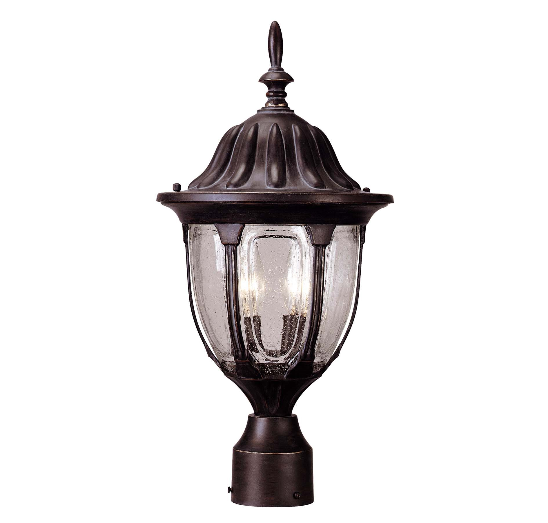 Tudor Traditional Outdoor Post Lantern Xhvs 4051 5