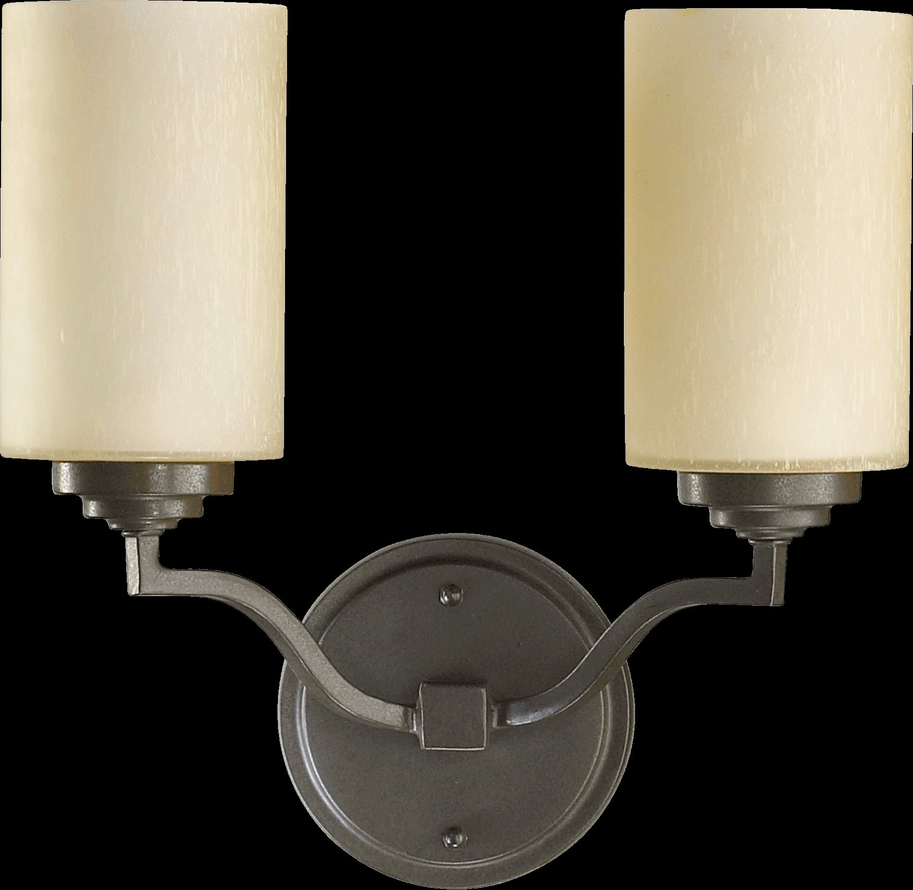 Traditional Wall Sconce With Switch : Quorum Lighting 5496-2-86 Atwood Traditional Wall Sconce QR-5496-2-86