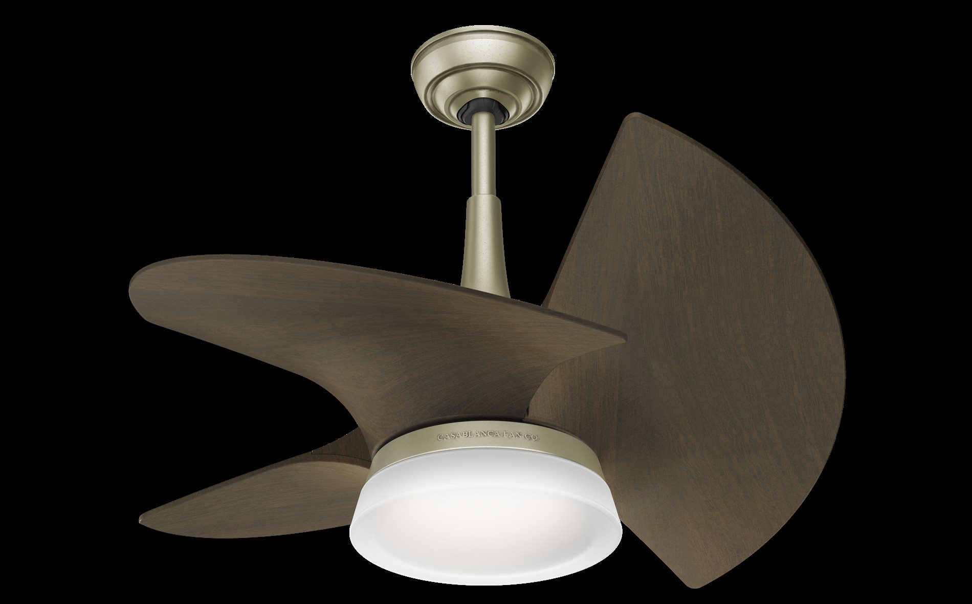 "Casablanca 30"" Ceiling Fan with Light and Remote HUN"