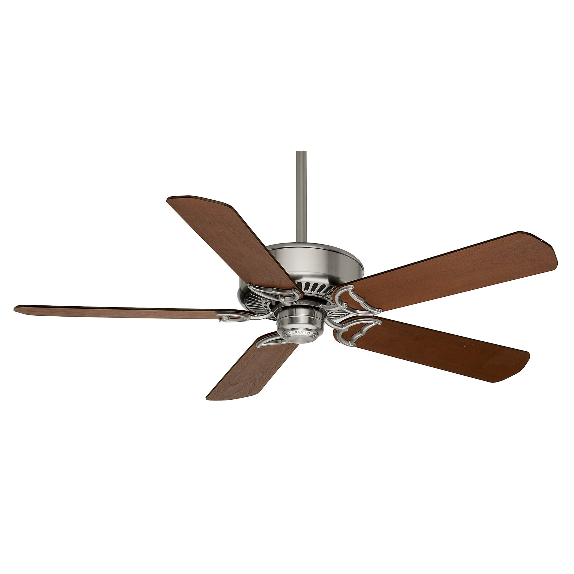 casablanca fans panama dc 54 brushed nickel ceiling fan
