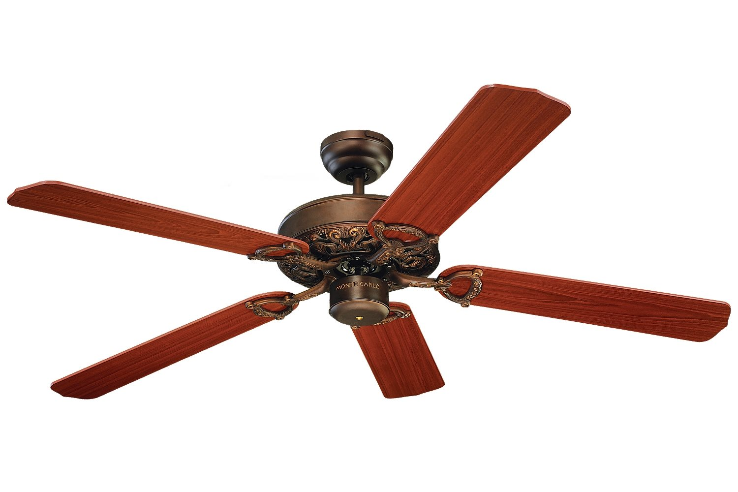 Monte Carlo Fan 5or52 52 Quot Ornate Traditional Ceiling Fan