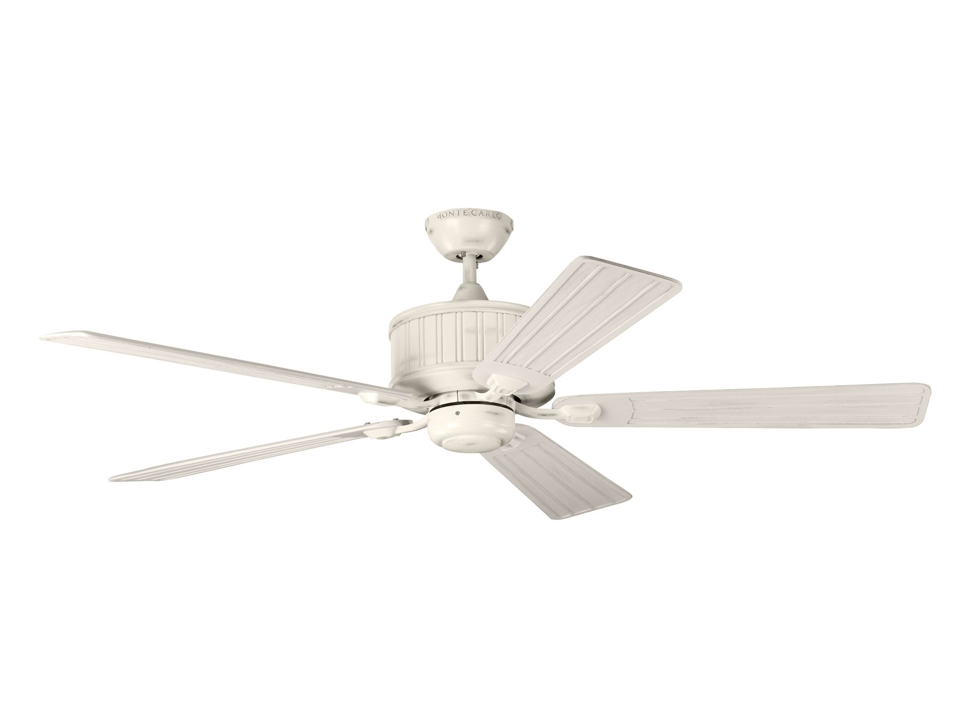"Monte Carlo Fan 5TLR54CHKW Tillbury 54"" Traditional Ceiling Fan MC"