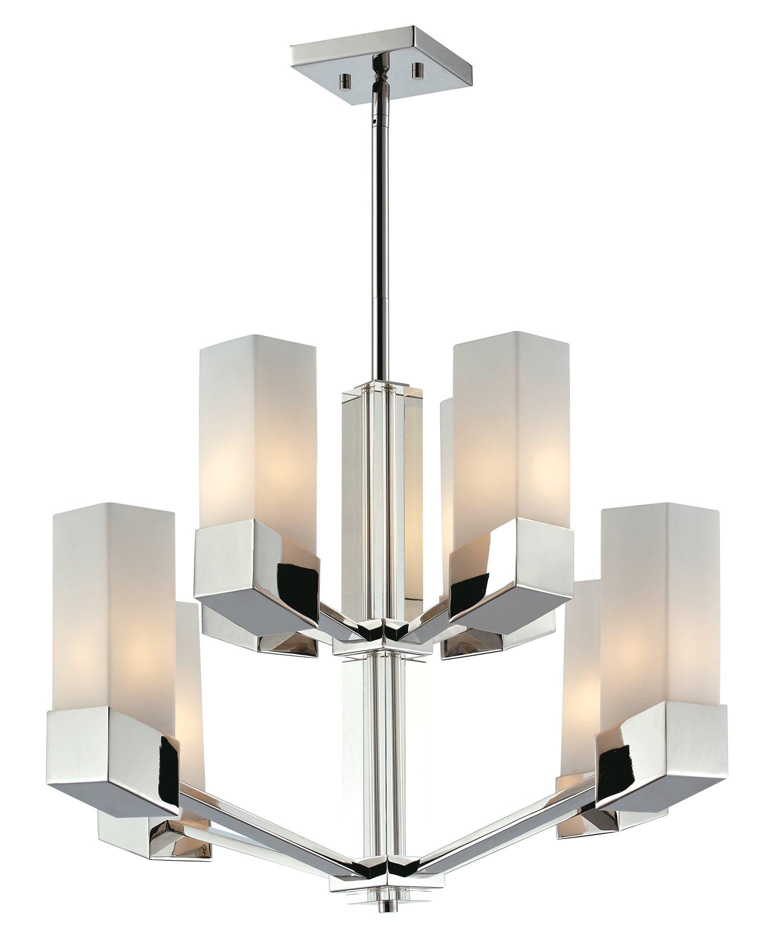 Z lite 607 8 zen modern contemporary chandelier zli 607 8 for Zen lighting fixtures