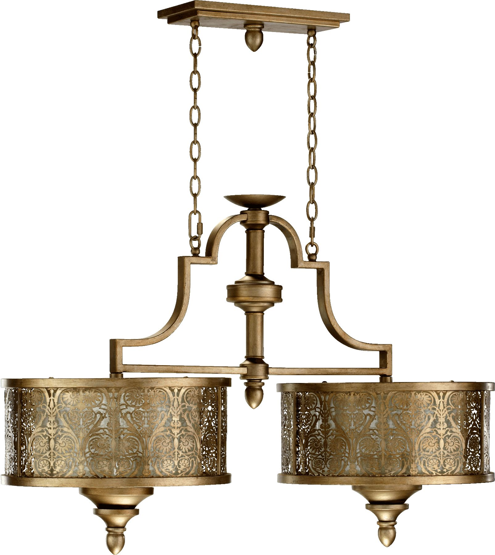 Quorum Lighting 6597-6-18 French Damask Traditional