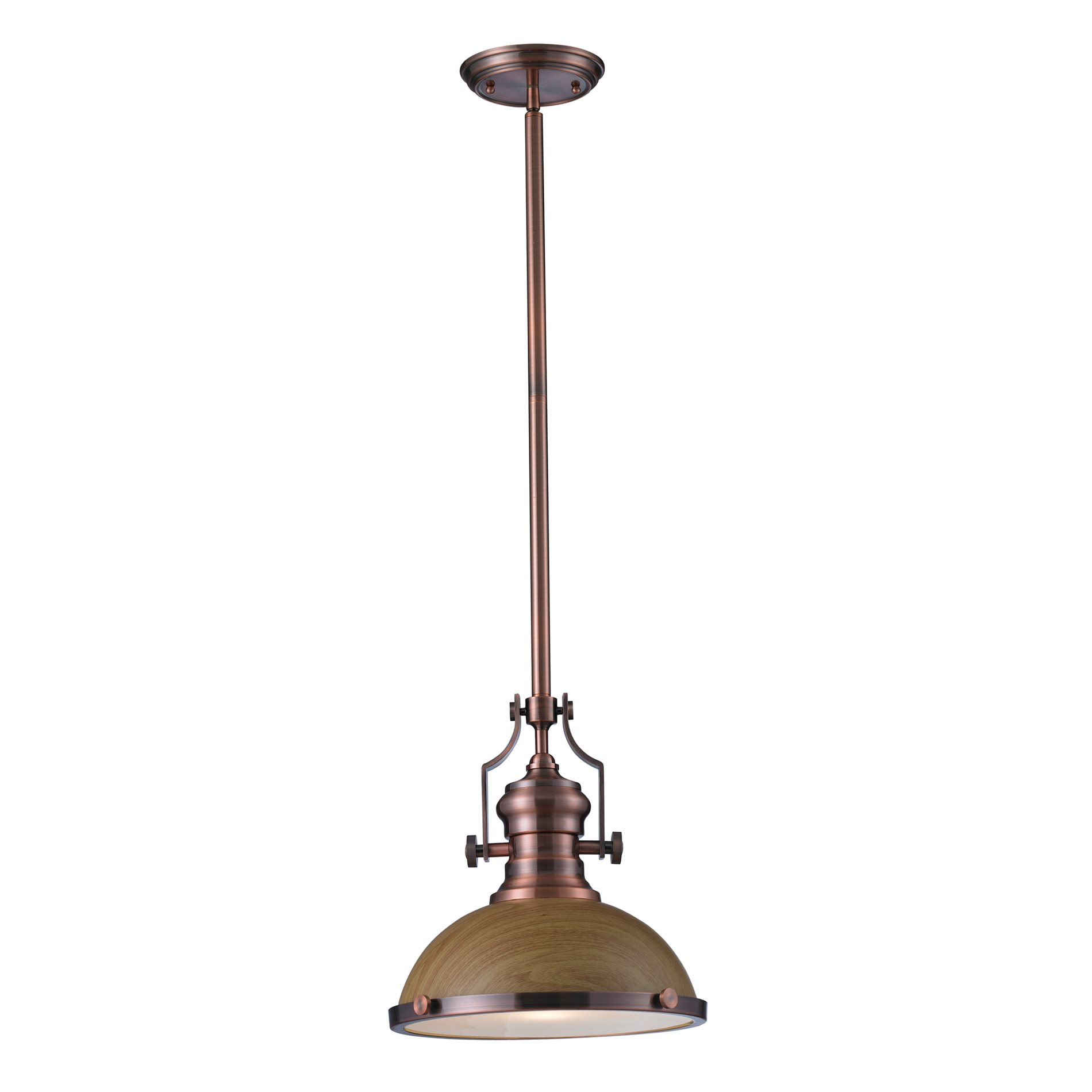 elk lighting 66544 1 chadwick transitional pendant light