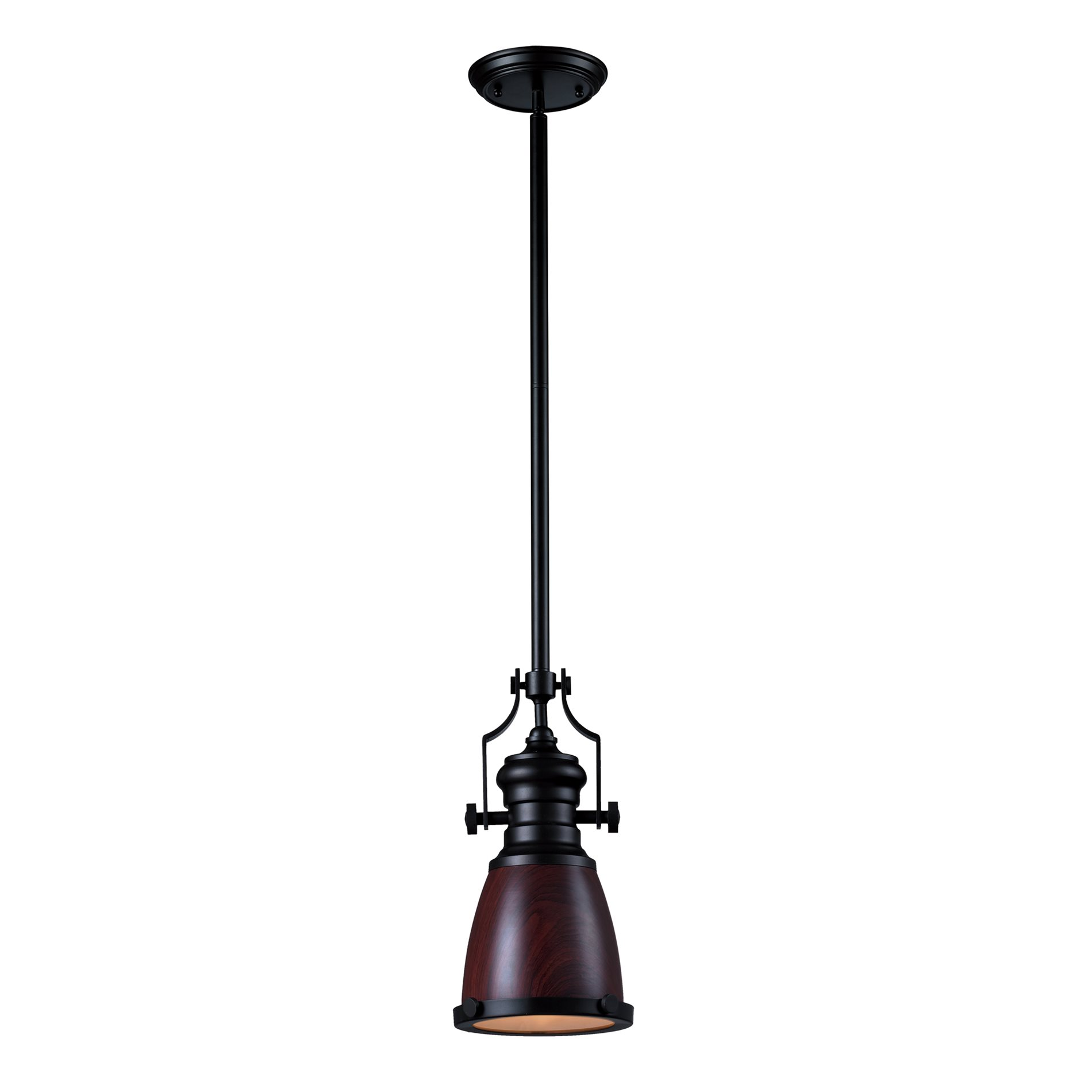 elk lighting 66724 1 chadwick transitional pendant light