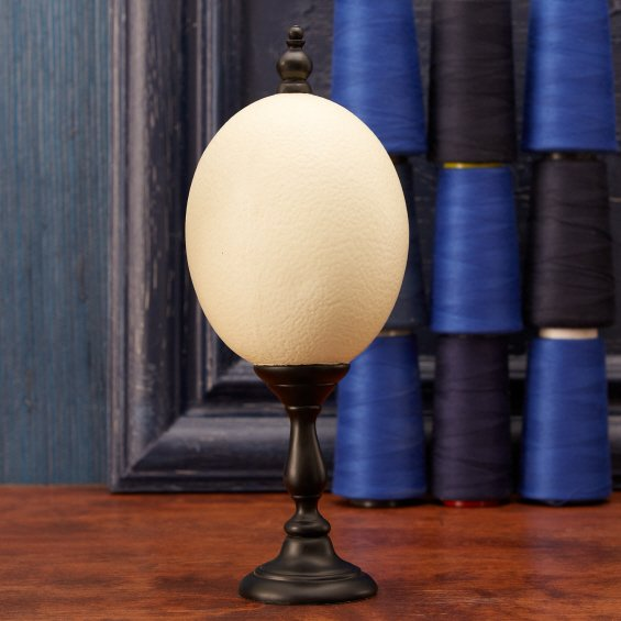 Light Stand For Egg: Twos Company 6738 Ostrich Egg On Stand TWO-6738