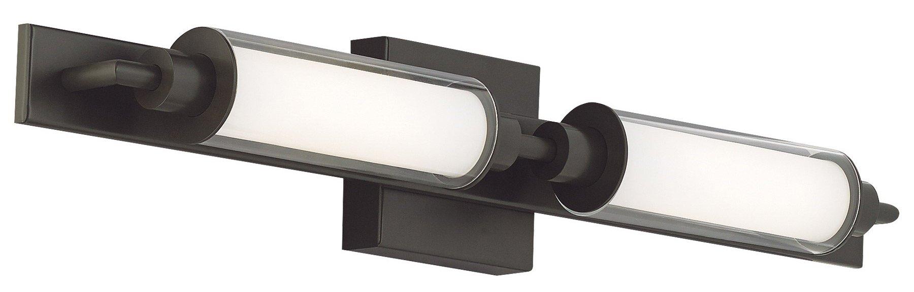 Bathroom Vanity Lights Black tech lighting 700bcmor morrison led modern / contemporary bathroom