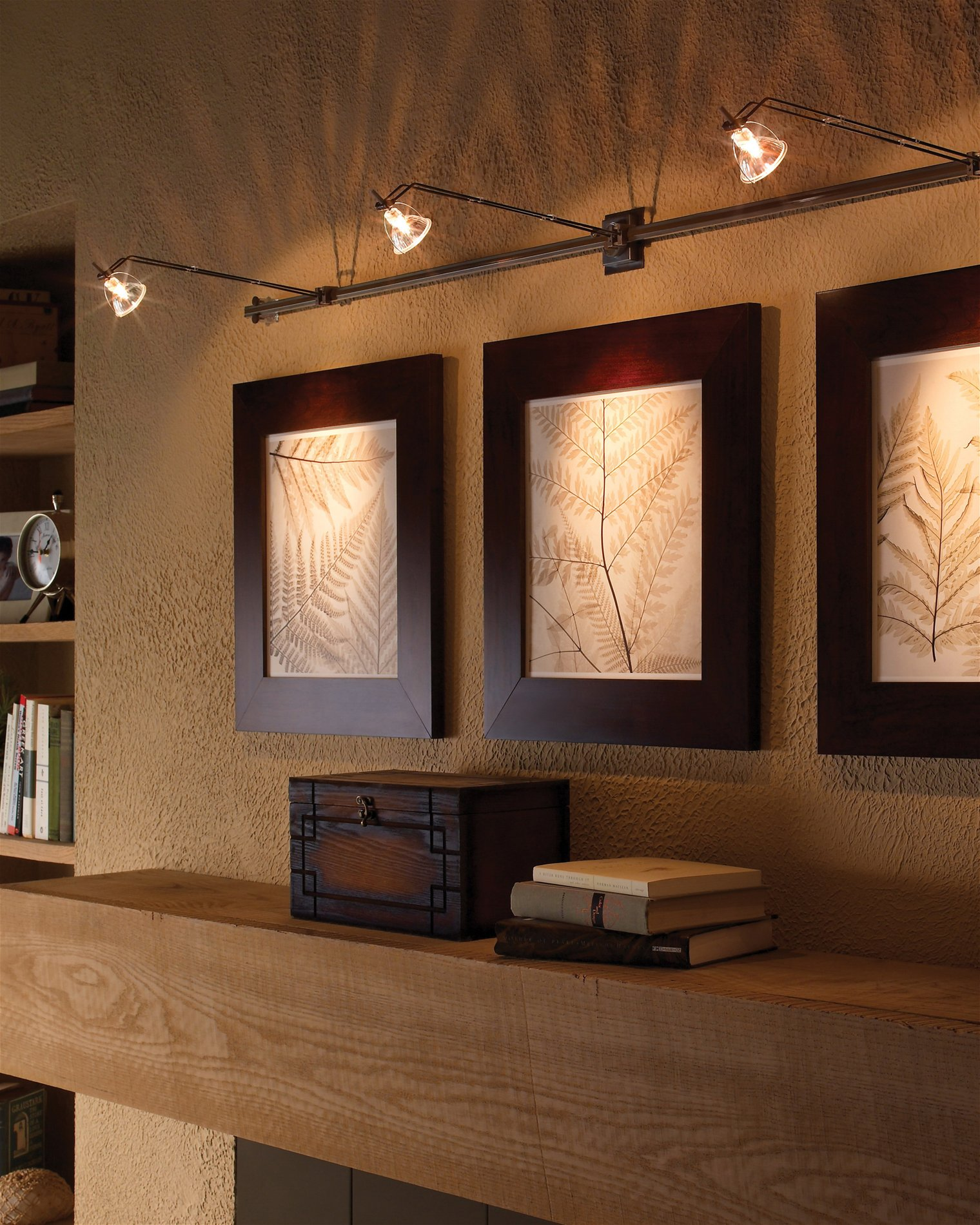 Accent Lighting Of Contemporary Table Lamps For Living: Tech Lighting 700WMWAL Wally Lite Contemporary Wall Rail