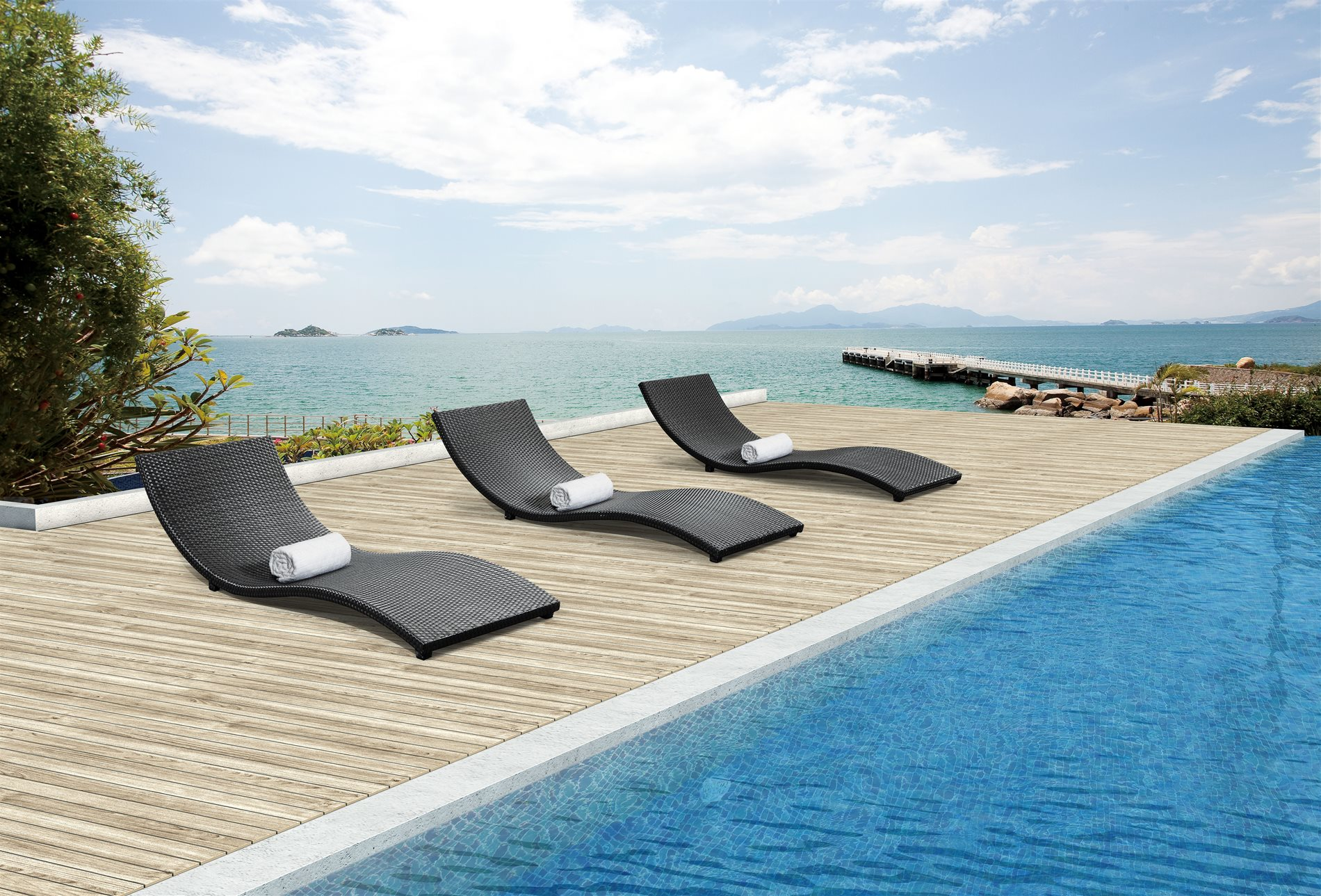Phuket outdoor lounge chair xmz 011107 for Outdoor furniture phuket