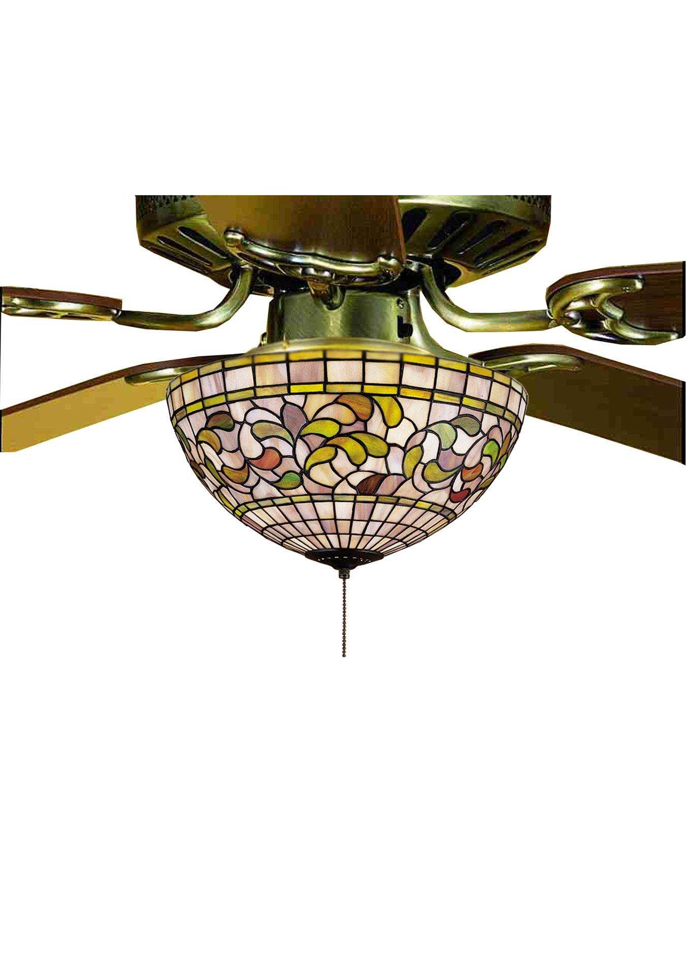 Meyda Tiffany 72650 Turning Leaf Tiffany Light Kit Md 72650