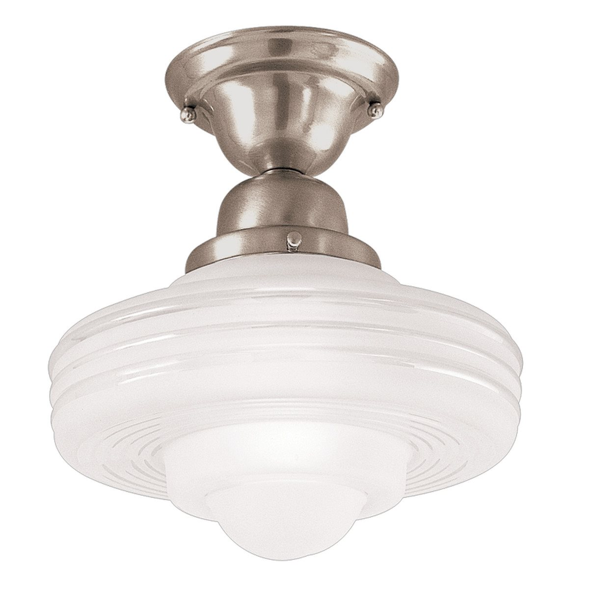 hudson valley lighting 7631 diner contemporary semi flush