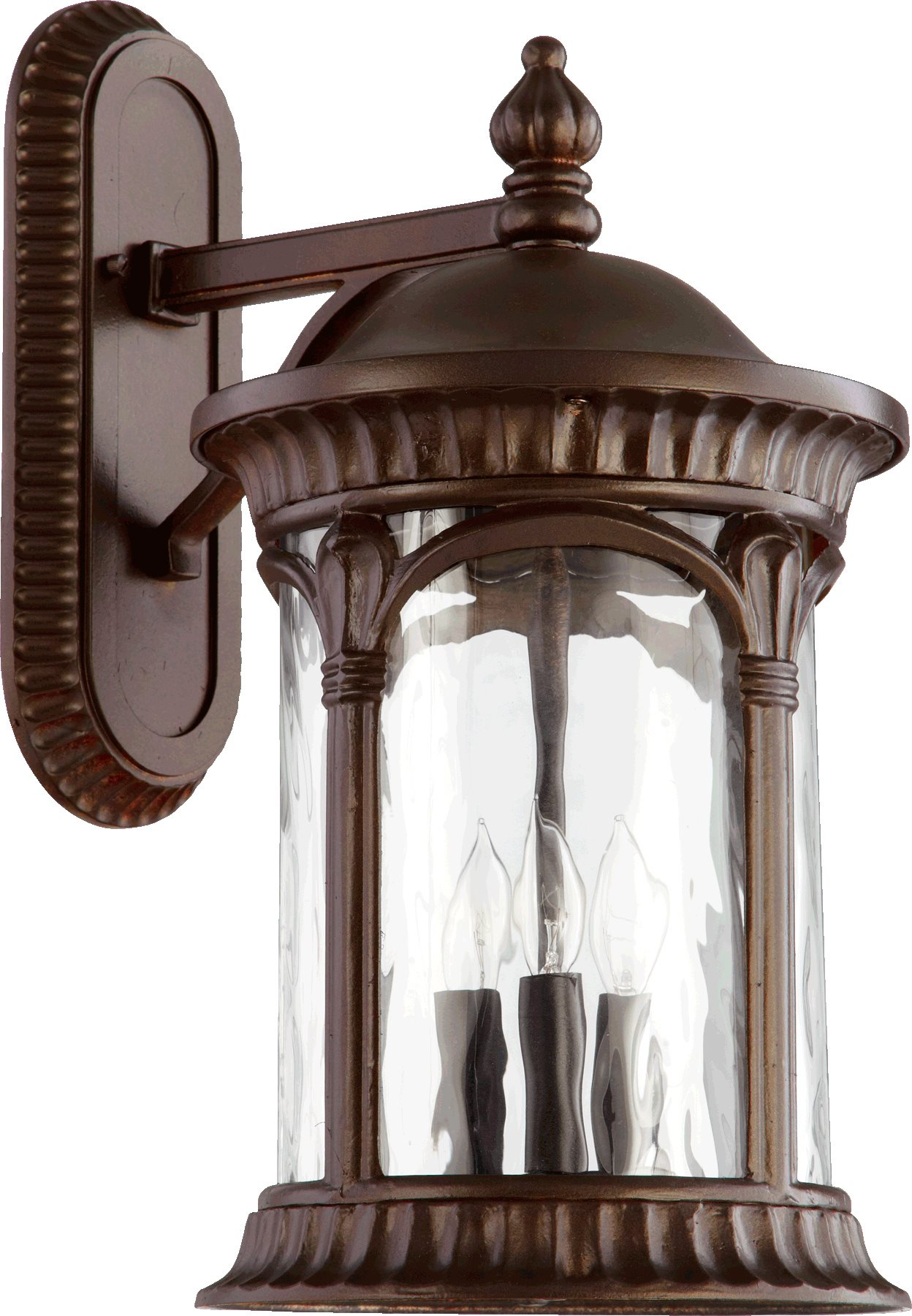 Quorum Lighting 7900 3 86 Riviera Traditional Outdoor Wall Sconce Qr 7900 3 86