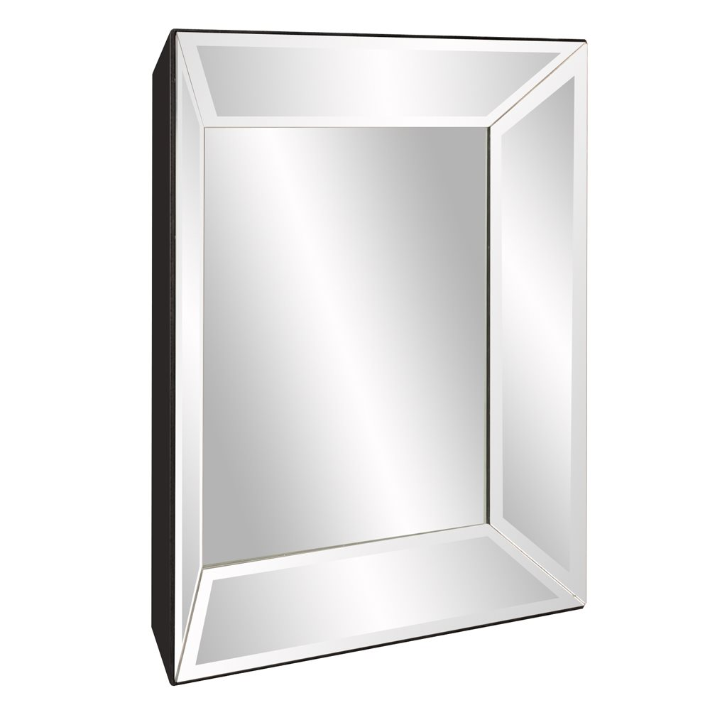 Howard elliott 79019 vogue modern contemporary square for Square mirror