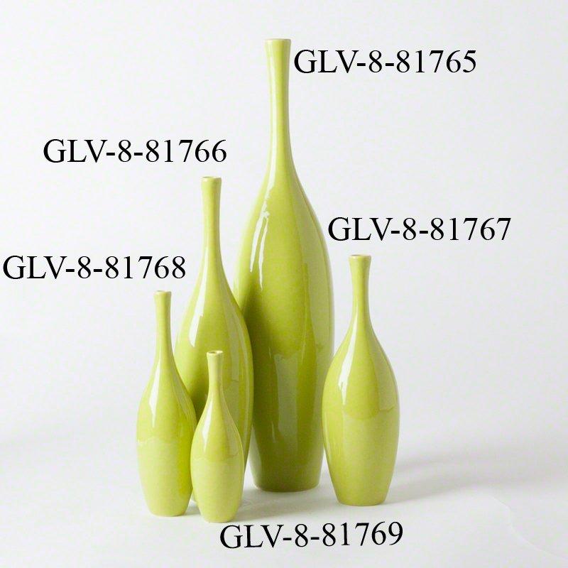 Global Views 881766 Juggler Key Lime Transitional Vase
