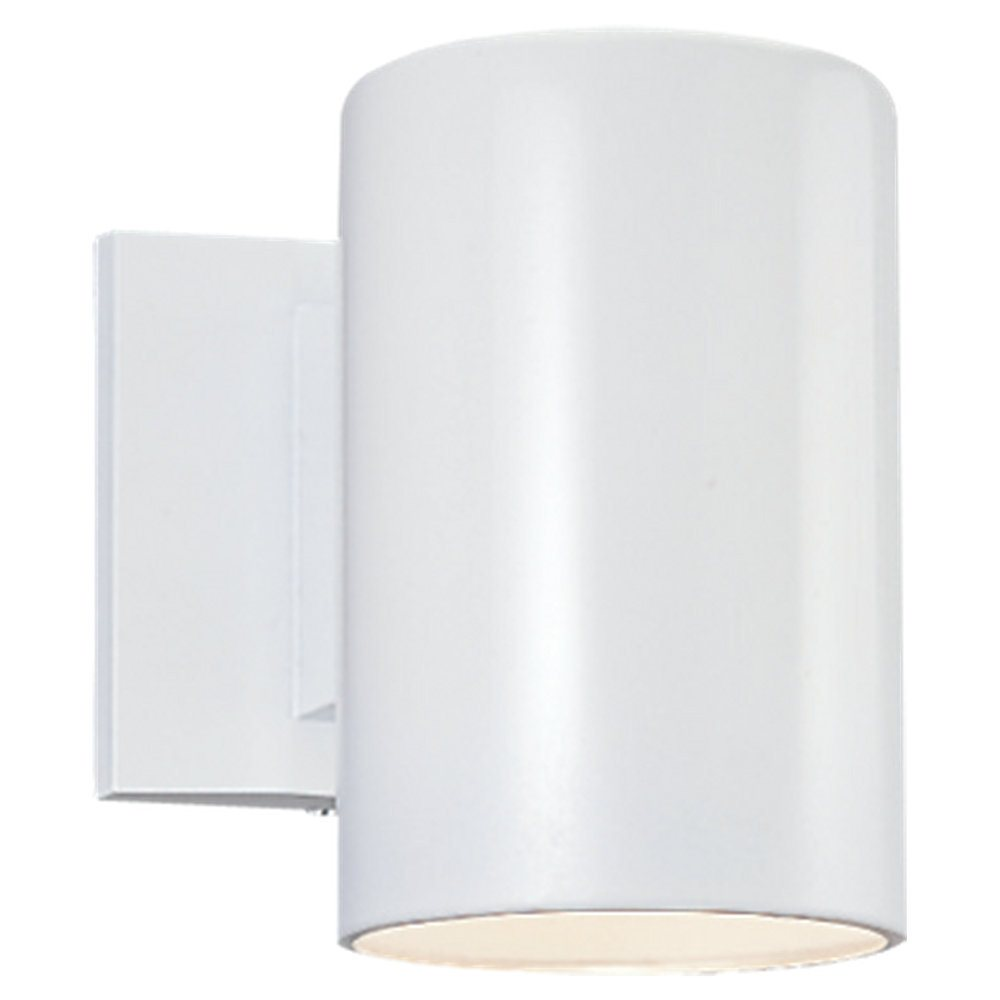 Sea Gull Lighting 8938DBL Bronze Contemporary Outdoor Cylinder Wall Sconce SG