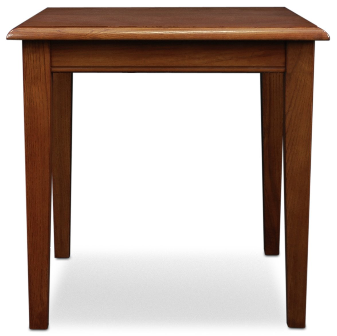 Leick furniture med solid wood stacking table lei