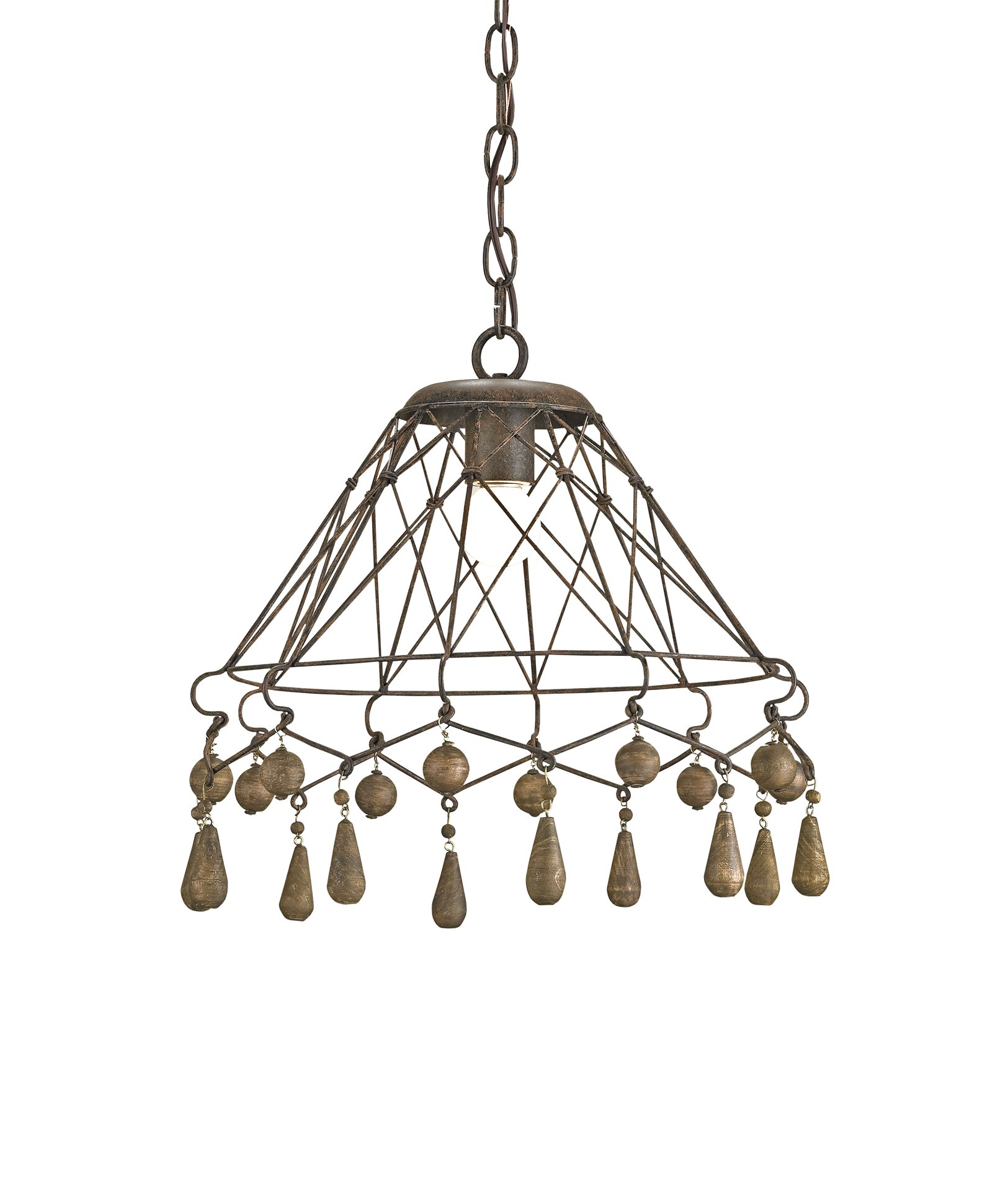 Currey And Company Manuscript Pendant: Currey And Company 9416 Tinker Traditional Pendant Light