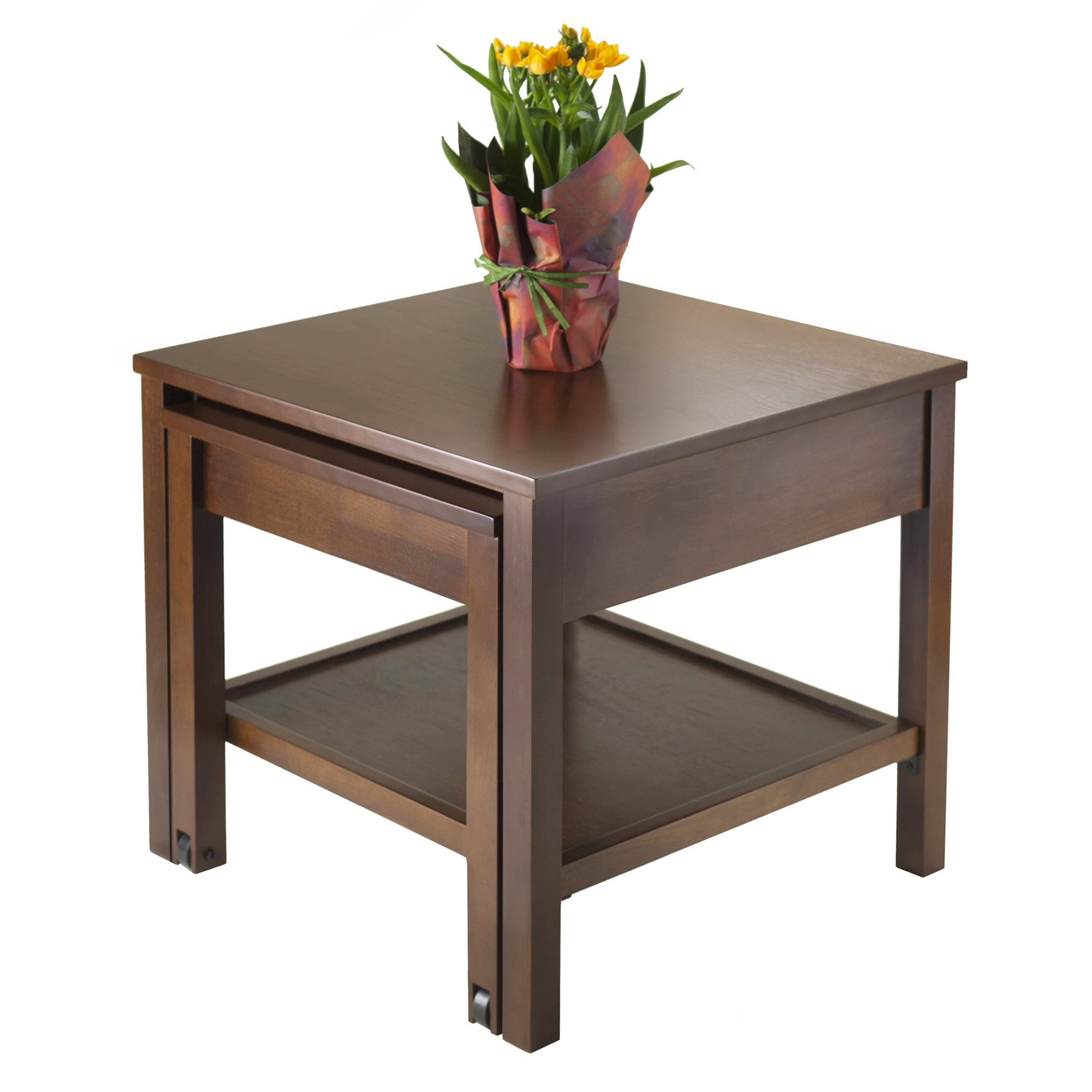 Winsome Wood 94818 Brandon Expandable End Table Winw 94818