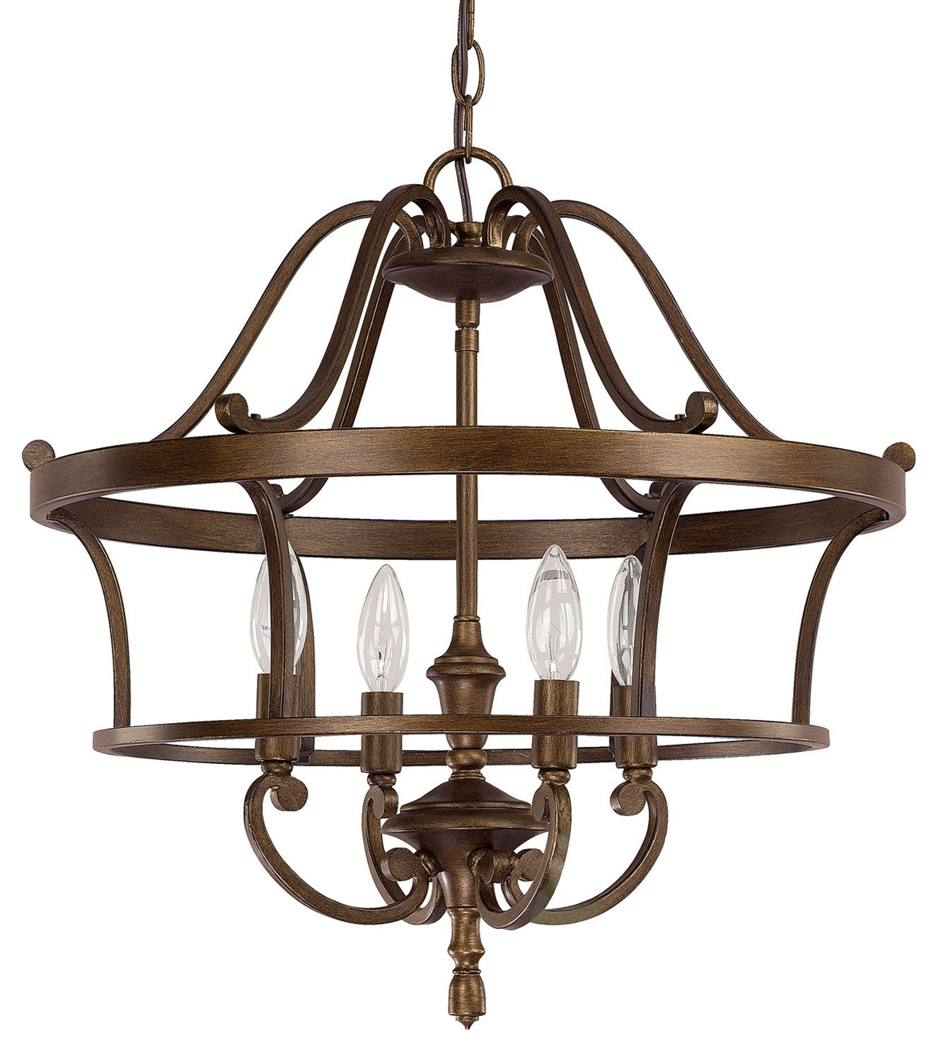 Traditional Foyer Light Fixtures : Capital lighting sd claybourne traditional foyer light