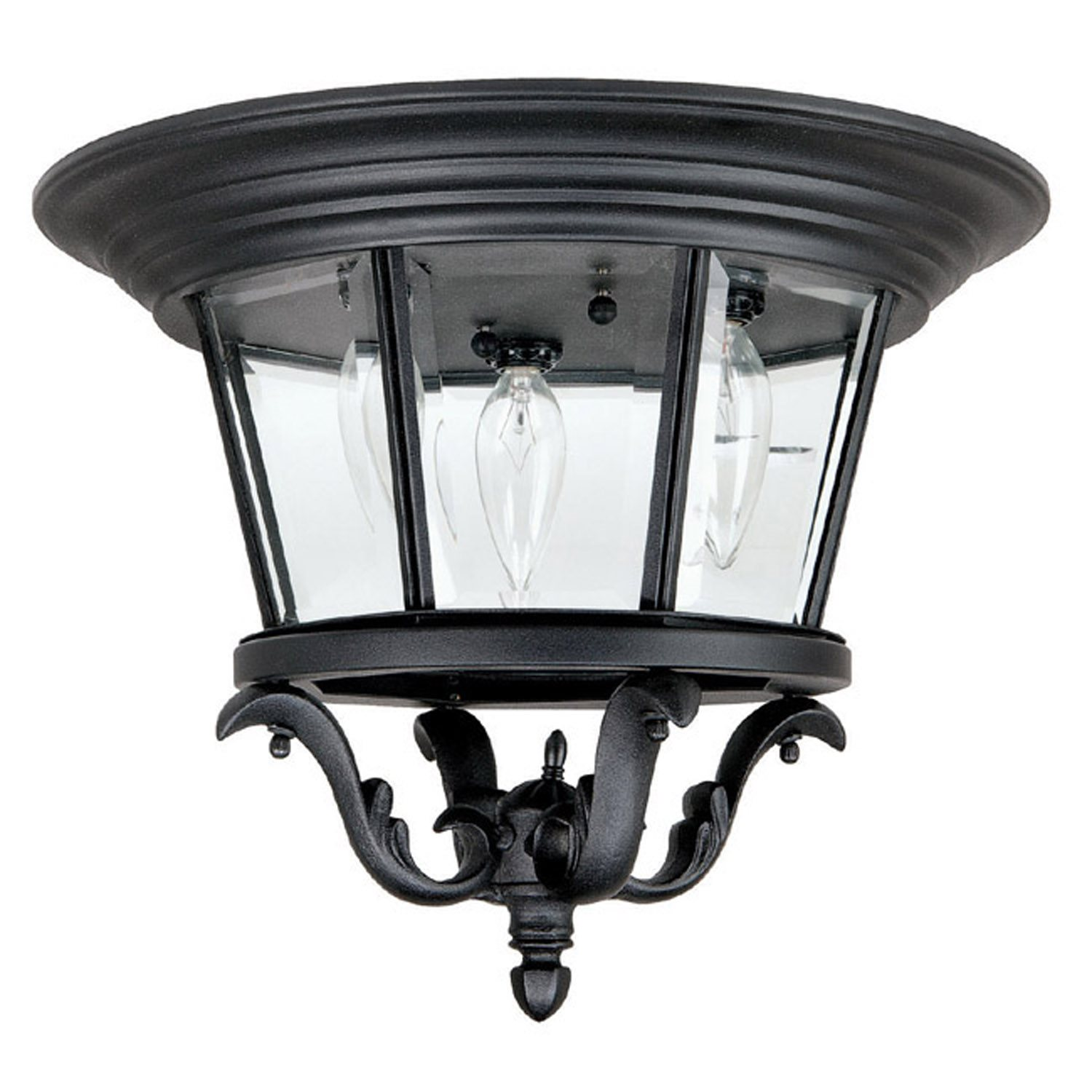 Capital Lighting 9758 Madison Traditional Outdoor Flush