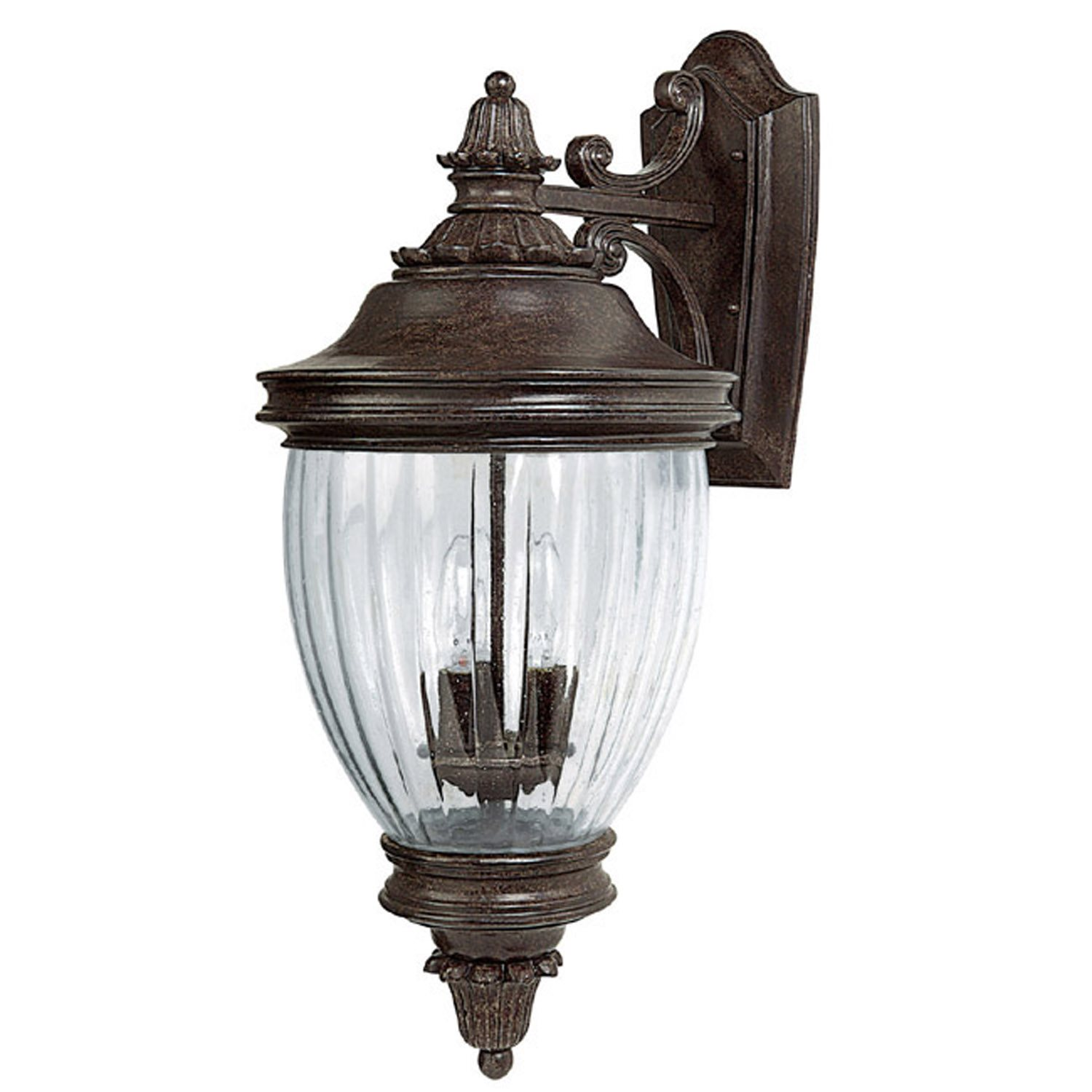 Capital Lighting 9772TS Battery Park Traditional Outdoor Wall Sconce CP-9772TS
