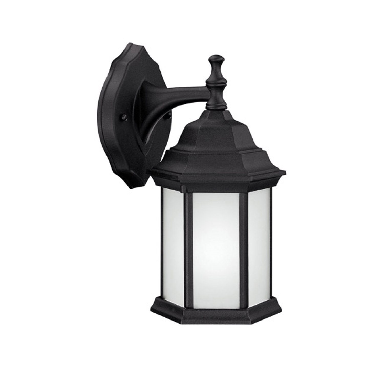 Capital Lighting 9830bk Gu Brookwood 13w Energy Efficient Traditional Outdoor Wall Sconce Cp