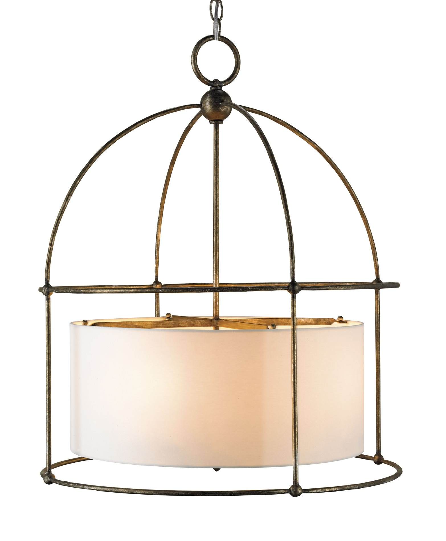 Currey And Company 9885 Benson Traditional Drum Chandelier