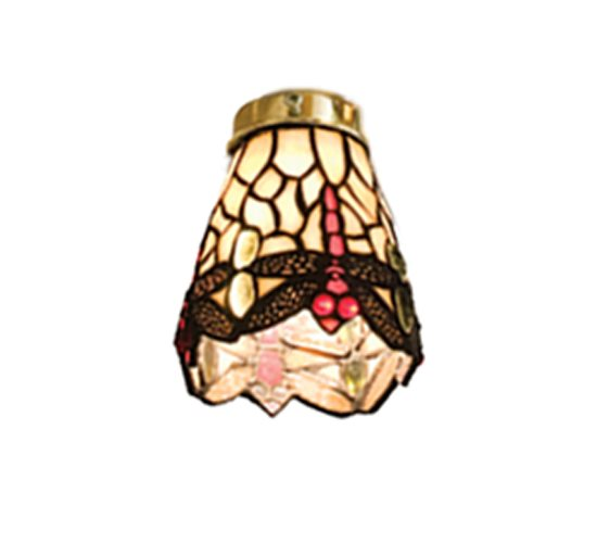 meyda tiffany 99245 scarlet dragonfly ceiling fan light