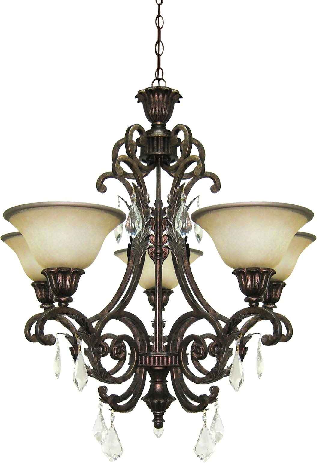 artcraft lighting ac1827 florence traditional chandelier