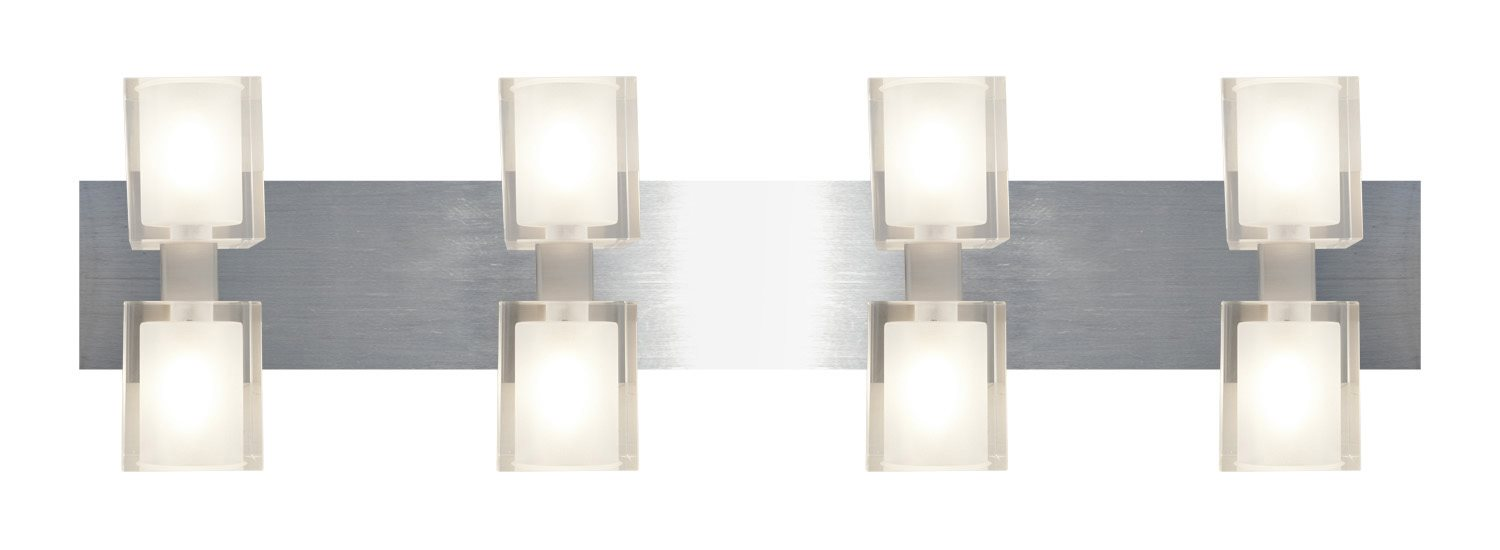 Crystal Vanity Lights For Bathroom : Astor Crystal Modern / Contemporary Vanity / Bathroom Light - XCA-LCF-SB-80932