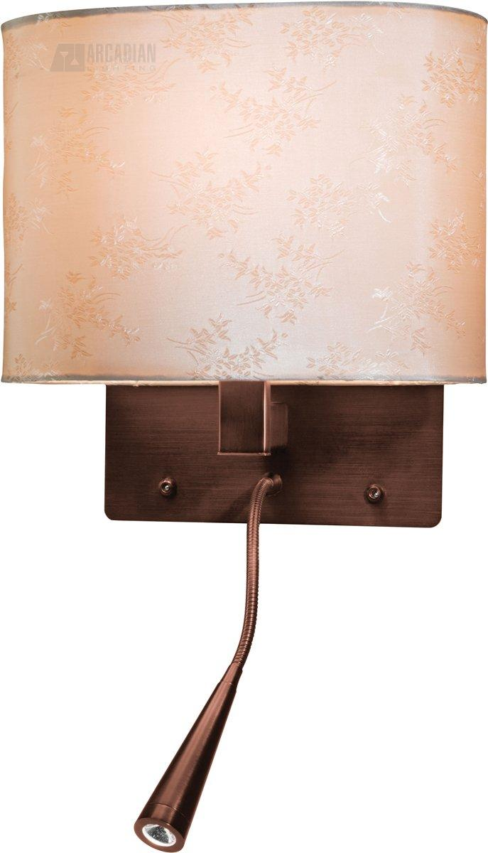 Access lighting c70021 epiphanie gooseneck contemporary energy efficient wall sconce ac c70021 - Gooseneck wall sconce ...