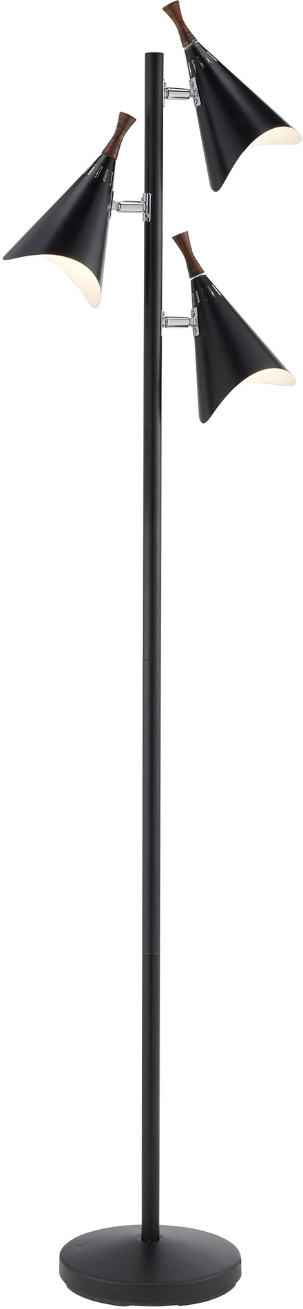 Adesso 3236 01 draper tree contemporary floor lamp ad 3236 01 for Draper 3 light tree floor lamp