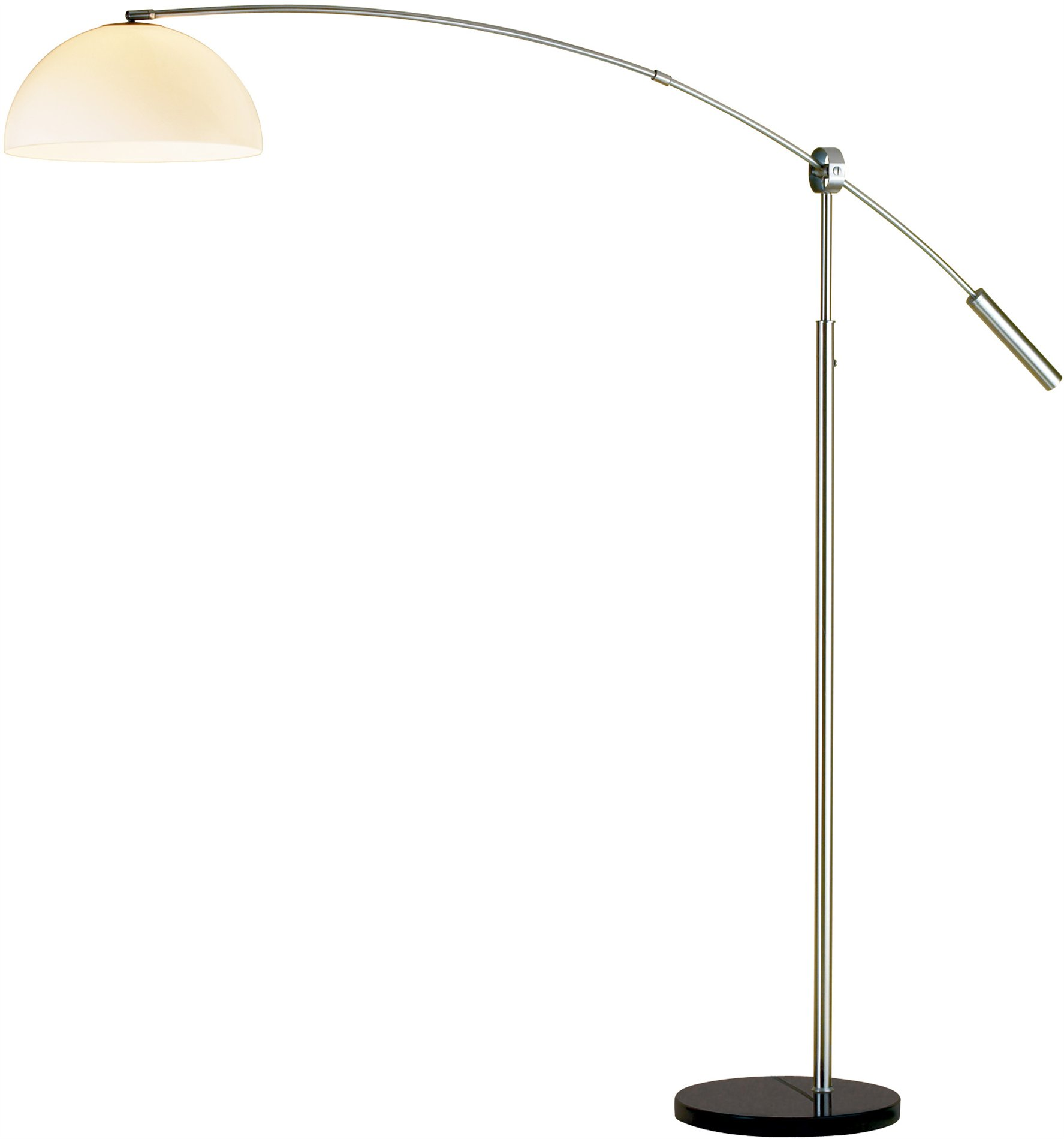 adesso outreach contemporary arc floor lamp ad 4134 22 see details. Black Bedroom Furniture Sets. Home Design Ideas