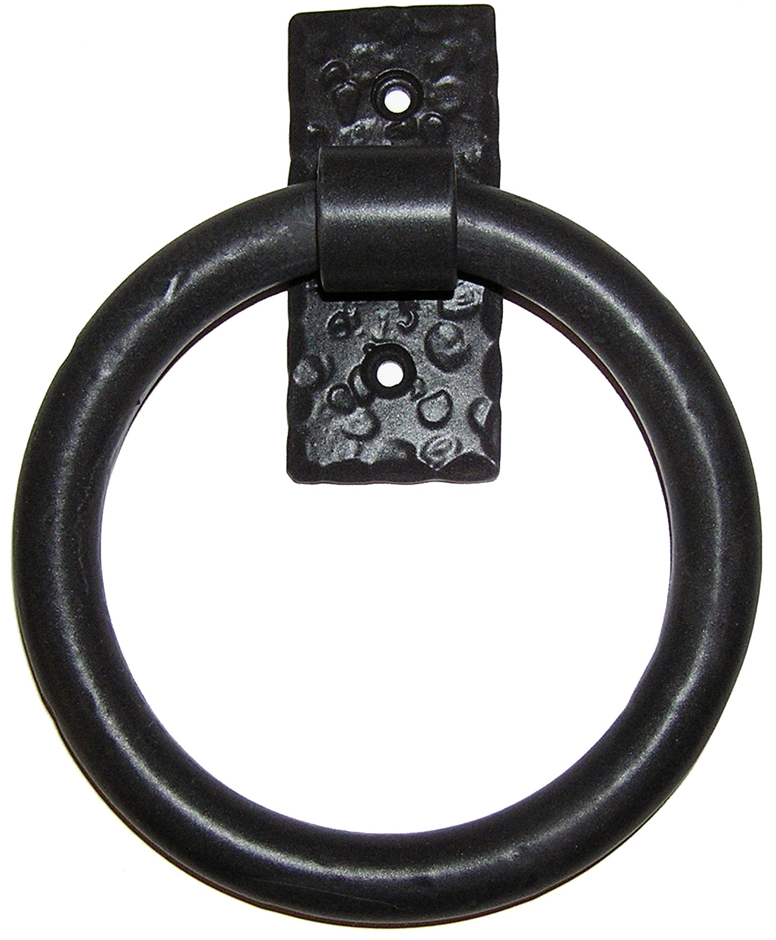 Agave Ironworks Kn015 Smooth Ring Door Knocker Agi Kn015