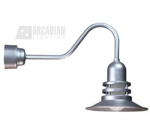 Orbitor Series 32W Energy Efficient Gooseneck RLM Barn Wall Light XPNA 94