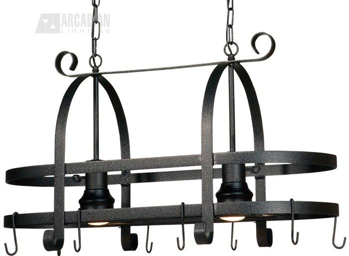 Incroyable Artcraft Lighting Pot Racks Transitional Kitchen Island Light    ART AC1798 SPEB See Details.