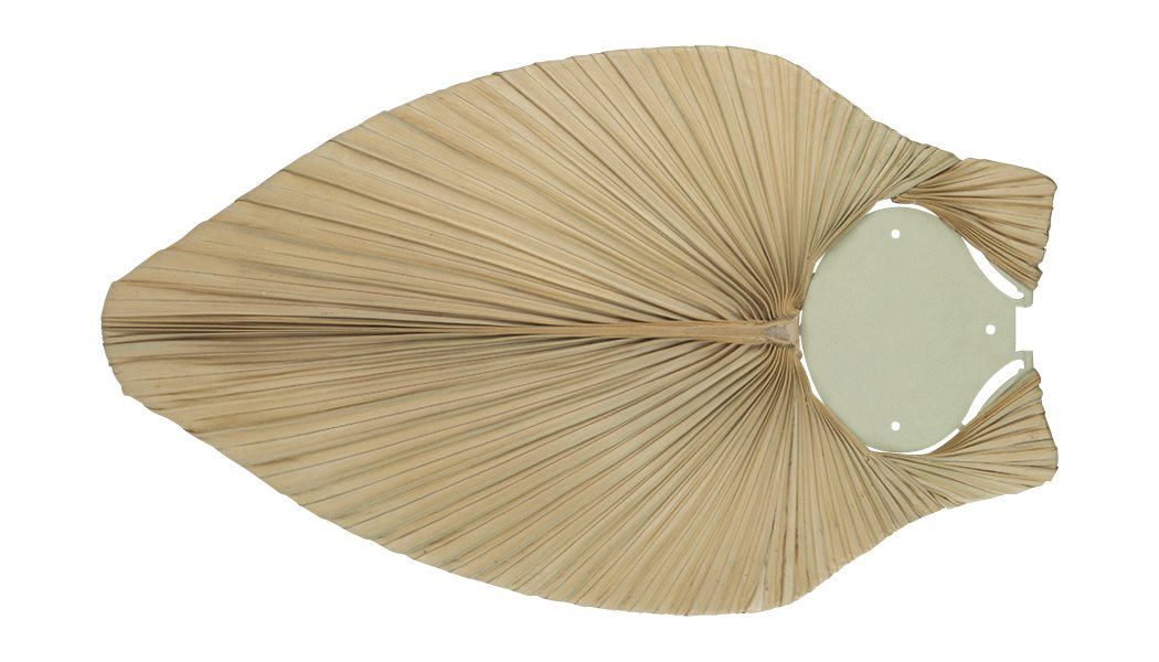 James 56 Natural Palm Ceiling Fan Blade