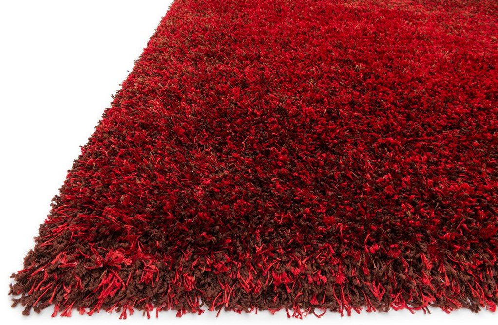 Loloi Rugs Barcbs 01re Barcelona Red Brown Modern
