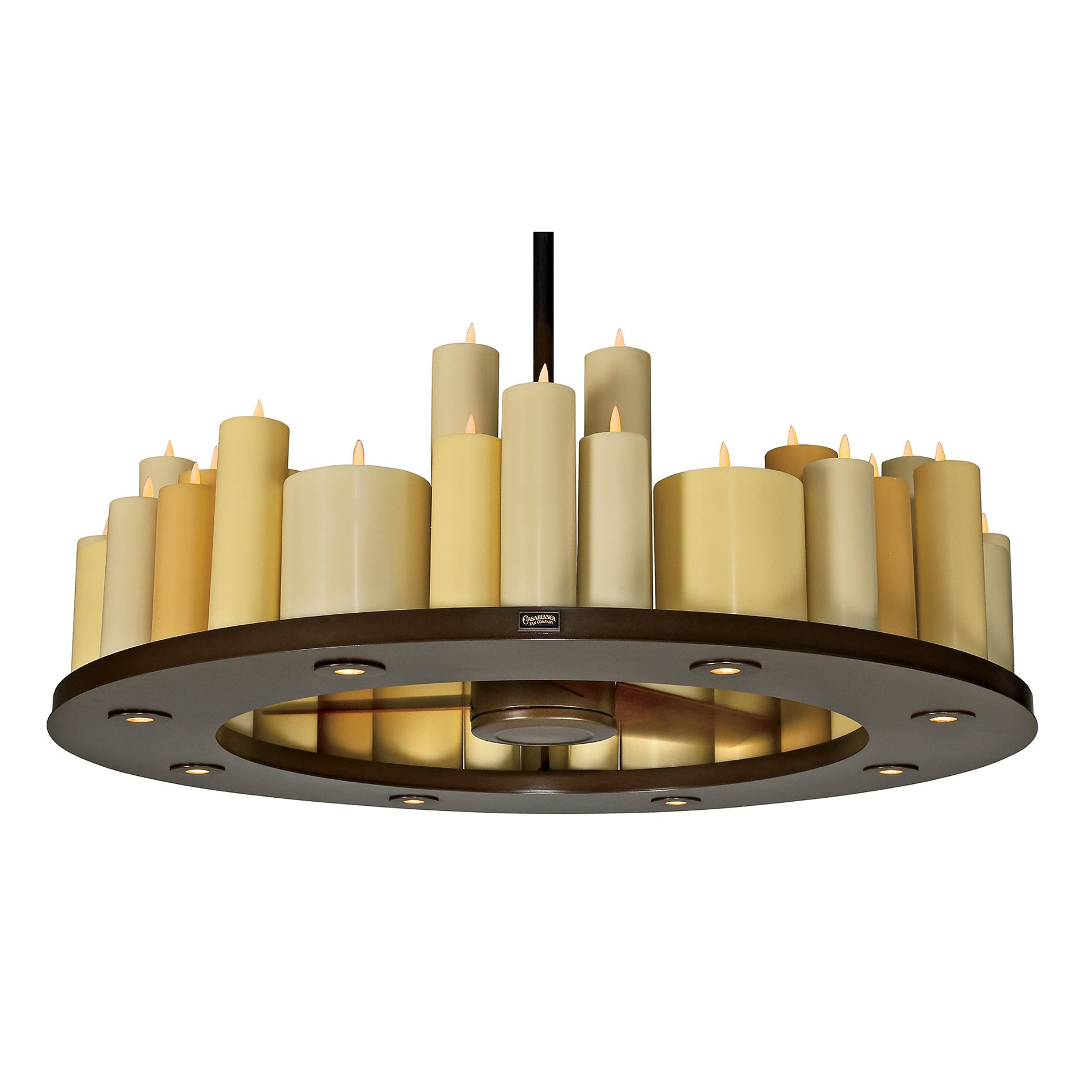 casablanca fans c16g73l candelier ii transitional candle chandelier ceiling fan casa c16g73l