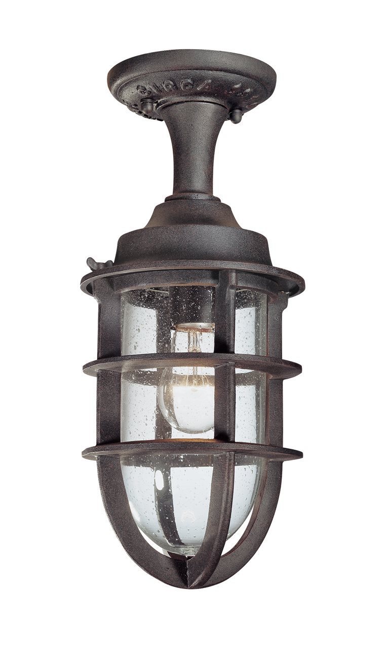 Troy Lighting C1864nr Wilmington Traditional Outdoor Semi Flush Mount Ceiling Light Tl C 1864 Nr