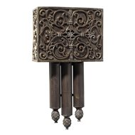 Bon Designer Carved Westminster Short Door Chime   CM CA3 RC