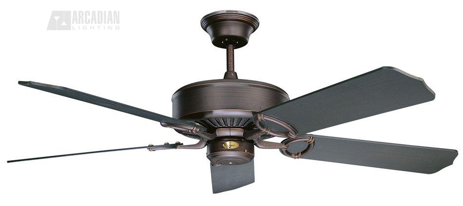 Concord fans 52ma5 madison 52 traditional ceiling fan cc 52ma5 orb oil rubbed bronze with oil rubbed bronze blades aloadofball Gallery
